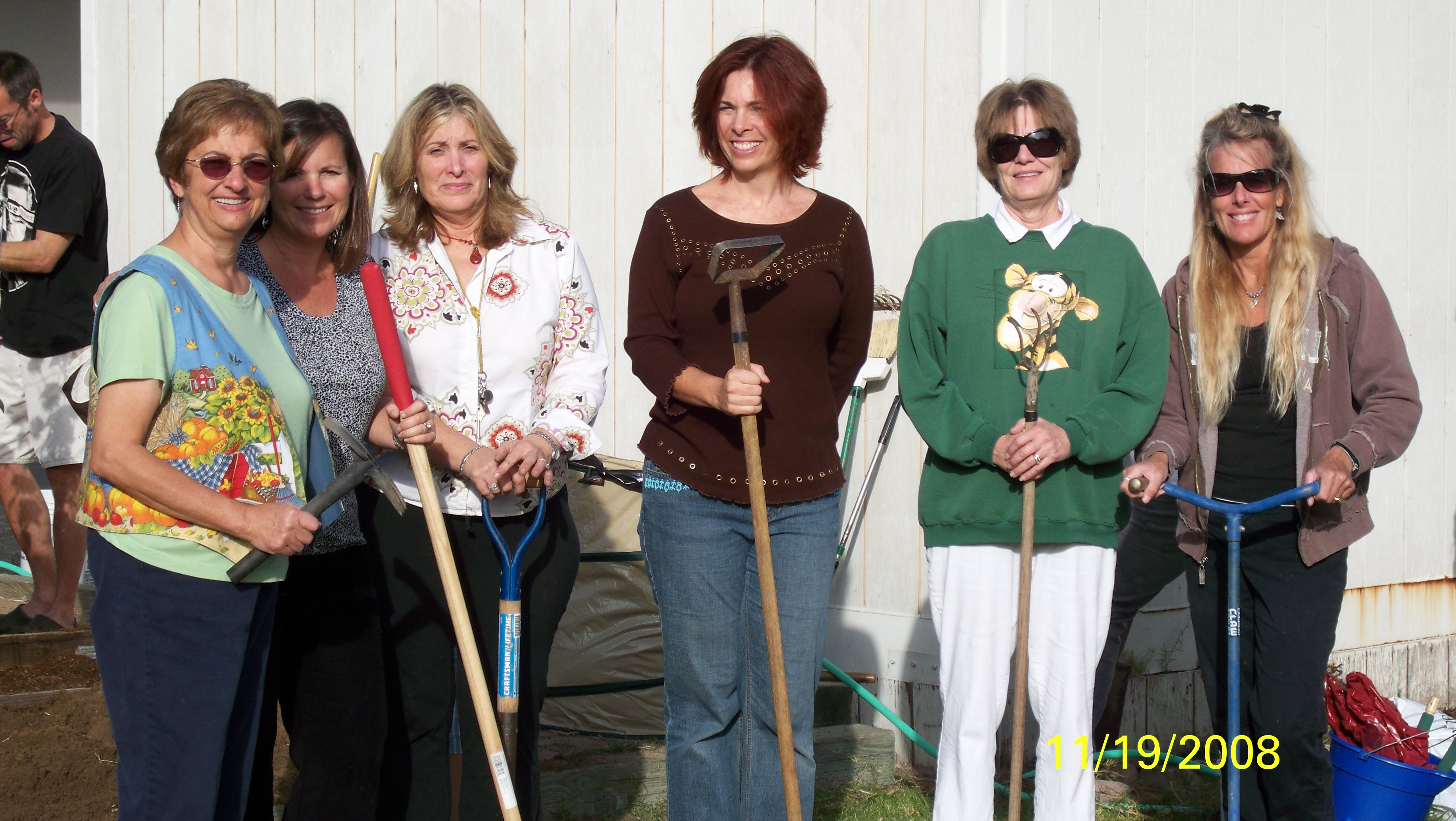 The Second Grade Garden Team
